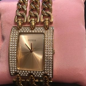 Pre-owned Guess Glitz